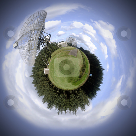 Communications sphere stock photo, Global communication theme by Corepics VOF