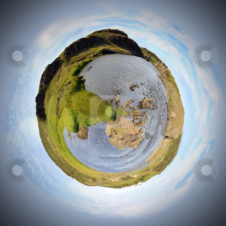 River Sphere stock photo, One of the four philosophic elements of the world: Water by Corepics VOF