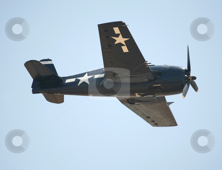American fighter plane stock photo, American World War II fighter plane or airplane by Stacy Barnett