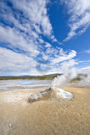 Fumarole stock photo, A fumarole in Hveravellir, Iceland by Corepics VOF