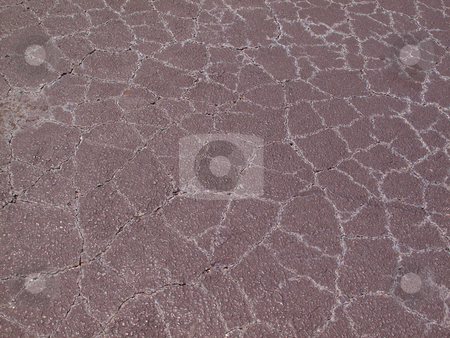 Cracked Surface stock photo, A cracked surface with unusual coloring. by Mitchell Featherston