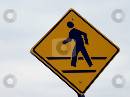 Pedesterian Crossing Sign stock photo, Pedesterian Crossing Sign by Dazz Lee Photography