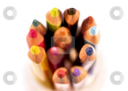 Color pencils stock photo, Color pencils by Cristovao Oliveira