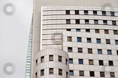 Metal facade stock photo, Modern office building with metal facade by Juraj Kovacik