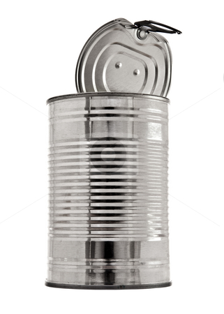 Tin Can stock photo, Tin Can by Jon Le-Bon