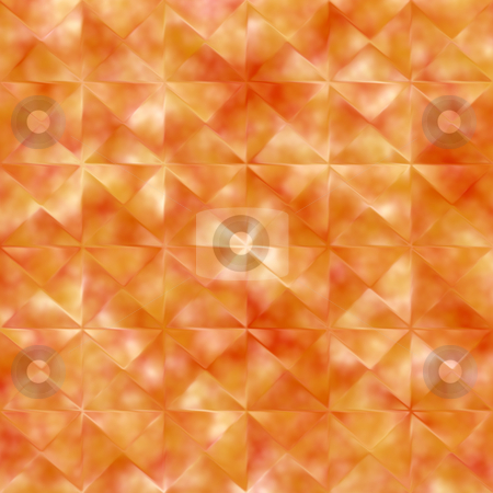 Grunge orange background stock photo, Seamless texture of dirty orange squares in pattern by Wino Evertz