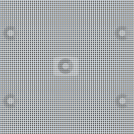 Simple metallic grid stock photo, Seamless texture of silver blue small maze by Wino Evertz