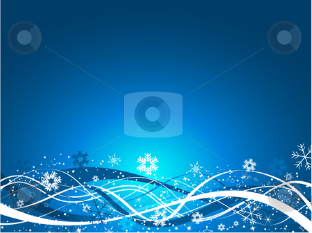 Abstract christmas stock vector clipart, Abstract Christmas background by Kirsty Pargeter