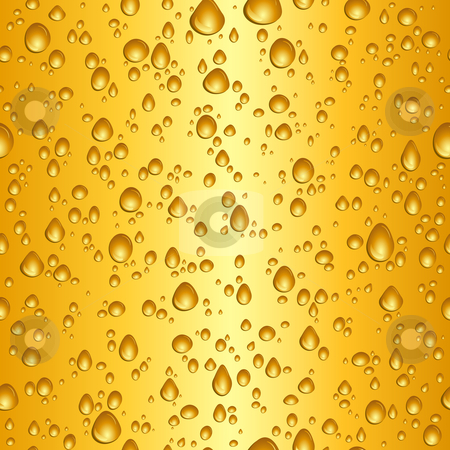 Beer drops stock vector clipart, Seamless tile background of beer drops by Kirsty Pargeter