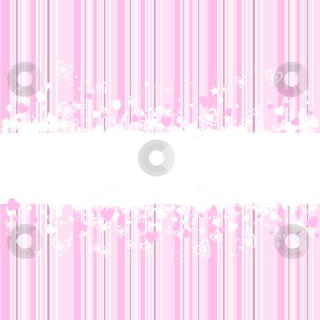 Grunge valentines stock vector clipart, Grunge Valentines background by Kirsty Pargeter