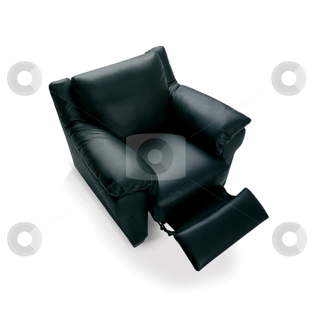 Armchair stock photo, This is a high quality image of a folding black armcahir by Anastasia Tsoupa