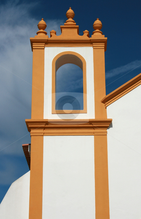 Detail of curch stock photo, Detail of a Luz south portugal church by Marc Torrell