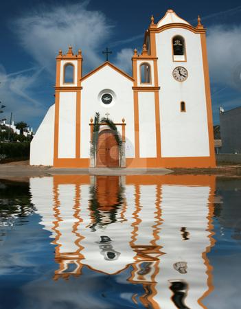 Church stock photo, Portuguese seaside church by Marc Torrell