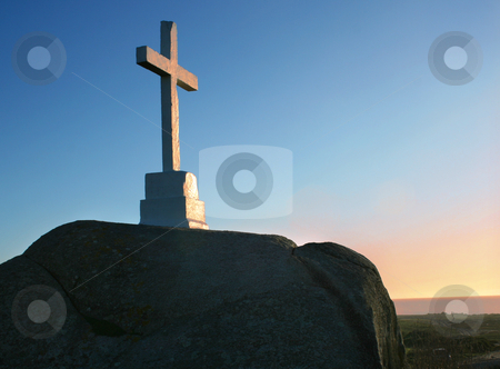 Cross stock photo,  by Marc Torrell