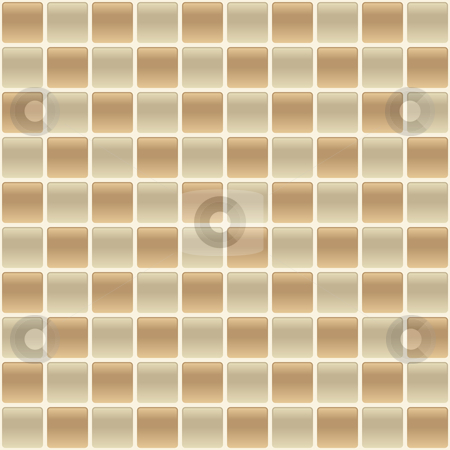 Checkered Tile Back Splash stock vector clipart, Vector checkered back splash tile design. Colors can be easily changed. Copy and paste sections to create a larger pattern. by John Schwegel