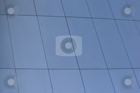 Steel plates stock photo, Steel plates of the mercedes-benz center stuttgart by Andreas Brenner
