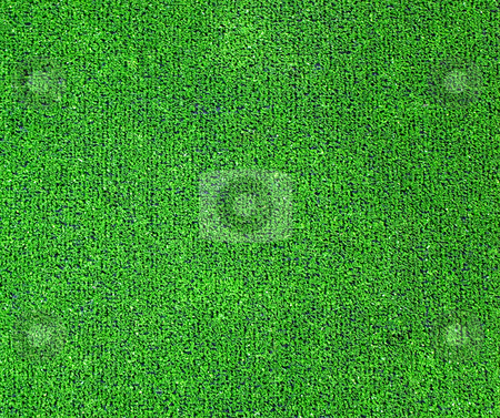 Green artificial grass plat stock photo, A green artificial grass for sports fields, covering, gardens. Plastic or grass backgroung texture by Roberto Marinello