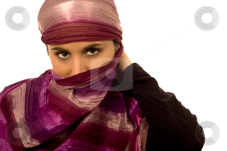 Ethnic woman stock photo,  by Marc Torrell