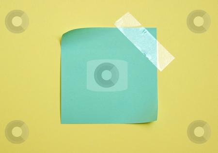 Empty note pad stock photo, Empty note pad isolated by Dragana Jokmanovic