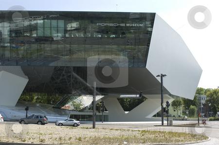 Porsche museum stock photo, Medium shot Porsche museum Stuttgart by Andreas Brenner