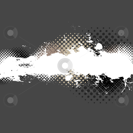 Paint Splatter Layout stock photo, An abstract paint splatter background texture with lots of copy space. by Todd Arena