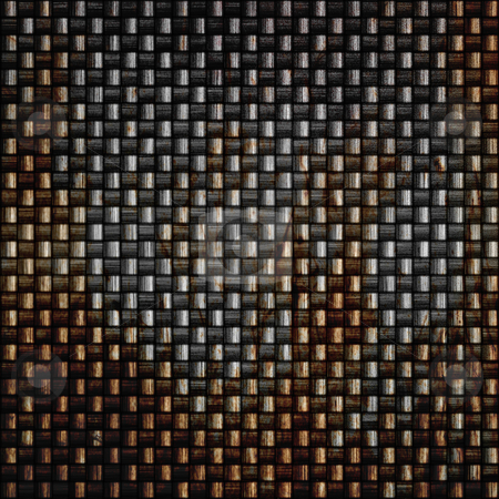 Rusty Carbon Fiber stock photo, A rusted and grungy looked carbon fiber texture. by Todd Arena