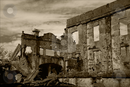 Ruins stock photo, Ruins at corregidor in the philippines by Alvin Gacusan