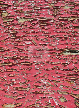 Old flaking pink paint abstract background. stock photo, Old flaking pink paint abstract background. by Stephen Rees