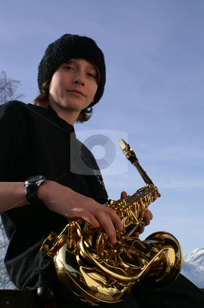 Blues Boy stock photo,  by Florian Huber