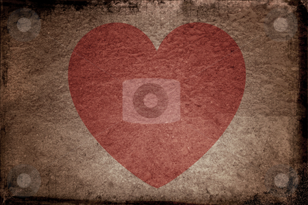 Grunge Valentines stock photo, Grunge Valentines background by Kirsty Pargeter