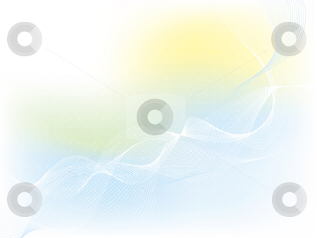Abstract background stock photo, Abstract pastel coloured background with flowing lines by Kirsty Pargeter