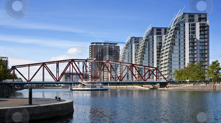 Salford Quays stock photo, Salford Quays by Jon Le-Bon