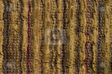 Textile background stock photo, Texture series: old styled textile background, close up by Gennady Kravetsky