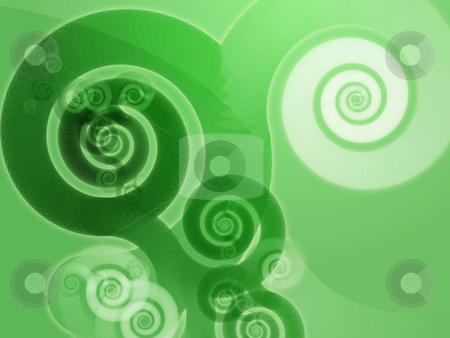 Abstract spiral swirls stock photo, Abstract swirly spiral grungy organic design wallpaper background by Kheng Guan Toh
