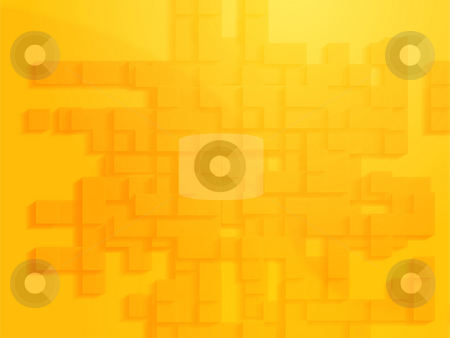 Abstract geometric shapes stock photo, Abstract illustration wallpaper of geometric shape blocks by Kheng Guan Toh