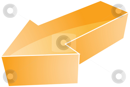 Arrows illustration stock photo, Forward moving arrows pointing left, design illustration by Kheng Guan Toh