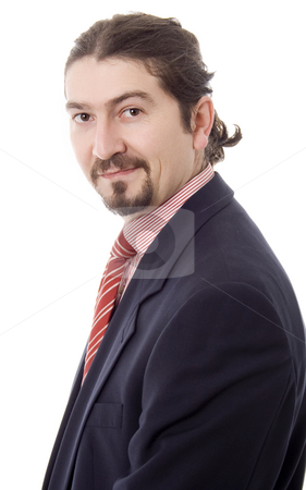 Happy business stock photo, Happy business man portrait by Marc Torrell
