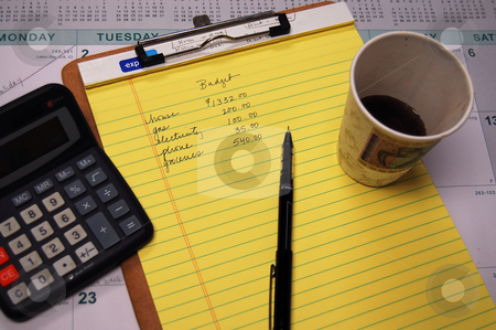 Budgeting stock photo,  by Heather Shelley