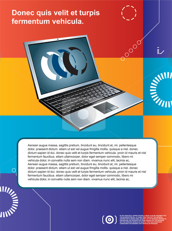 Creative layout template and background colors stock vector clipart,  by Aurelio Scetta