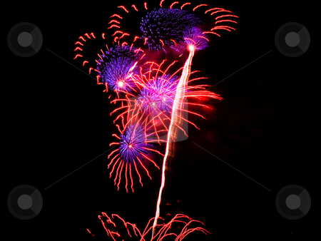 Fireworks stock photo, 4th of July fireworks in Seattle by Jaime Pharr