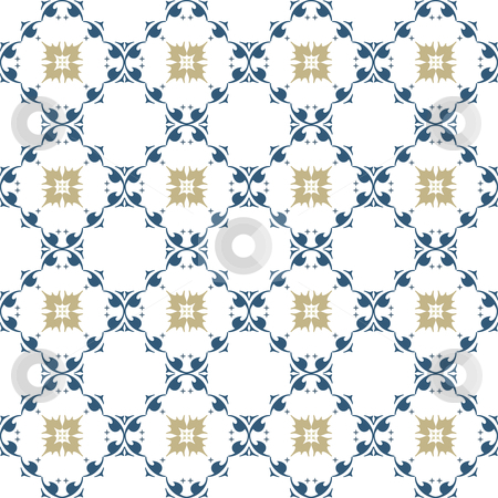 Pattern ornamental stock vector clipart,  by Aurelio Scetta