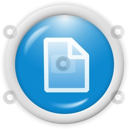 Text file icon stock photo, 3d icon - text file symbol - computer generated clipart by Stelian Ion