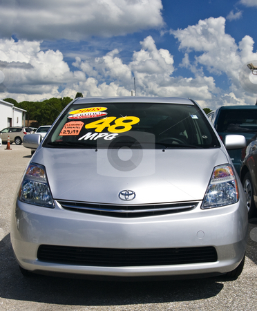 Used Toyota Prius stock photo, Toyota dealer sells used 2008 Prius for more than it costs new. by Steve Carroll