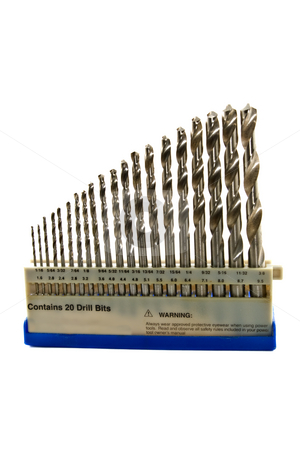 Drill Bits stock photo,  by Steve Carroll