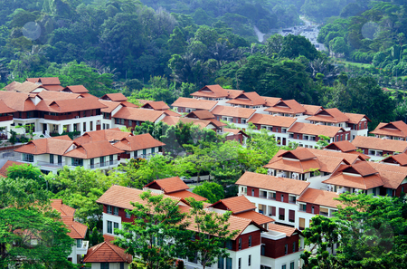 Modern Housing stock photo, Modern housing community in Kuala Lumpur by Robert Ford