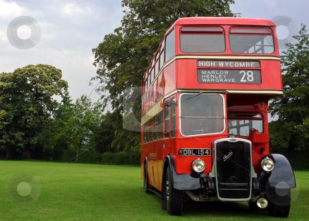 Bristol Half Cab stock photo, London Transport half cab restored bus at Alton bus rally by Robert Ford