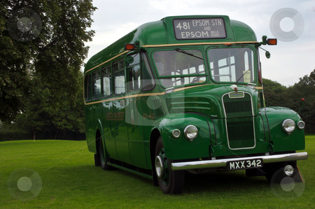 London Country GS42 stock photo, Former London Country GS42, MXX342, GUY at Alton Bus Rally by Robert Ford