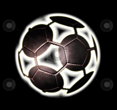 African football black stock photo, Another type of football design. by Reinhart Eo