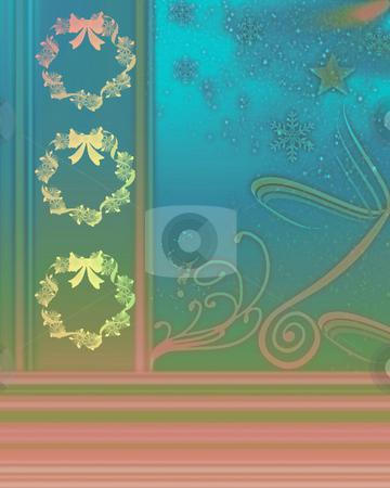Christmas Illustration stock photo, Christmas illustration by Laura Smith