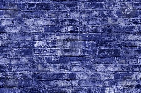 Seamless Background Brick Wall stock photo, Seamless background or wallpeper with a brick wall. by Henrik Lehnerer